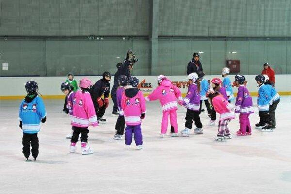 S ľadom na zimnom štadióne sa začali zoznamovať druháci zbánovských ZŠ, ktorí okrem toho absolvujú aj ďalšie športové aktivity.