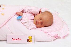 Veronika Staňová z Čerenian sa narodila 26.1. v Bojniciach