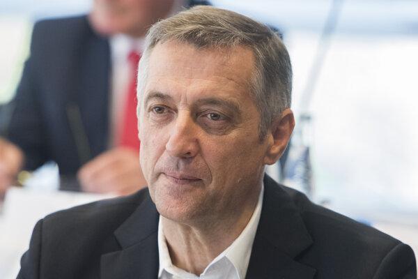 Šéf KOVO Emil Machyna.