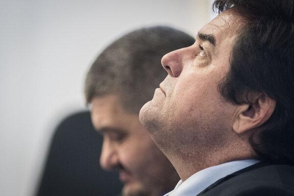 Marian Kočner pred súdom v prípade televízne zmenky.