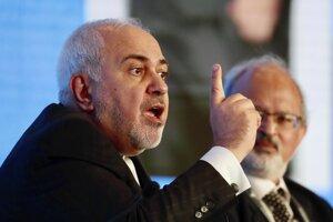 Iránsky minister zahraničia Mohammad Džavád Zaríf.