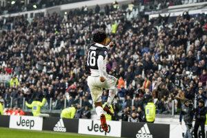 Juan Cuadrado z Juventus Turín.