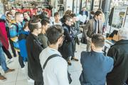 Technická fakulta Slovenskej poľnohospodárskej univerzity v Nitre sa aj tento rok koncom januára záujemcom o štúdium prezentovala v obchodnom centre Galéria Mlyny.