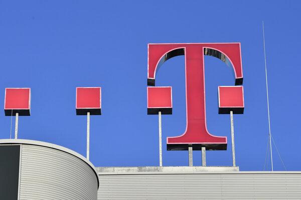 Logo spoločnosti Deutsche Telekom.