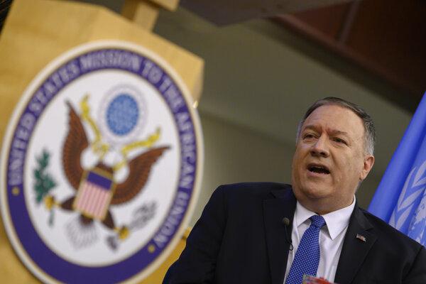 Minister zahraničných vecí USA Mike Pompeo.
