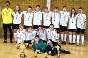 Víťazom žiackeho turnaj ObFZ Levice sa stali hráči Veľkých Turoviec