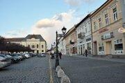 ilustračné foto - Hlavné námestie v Rimavskej Sobote