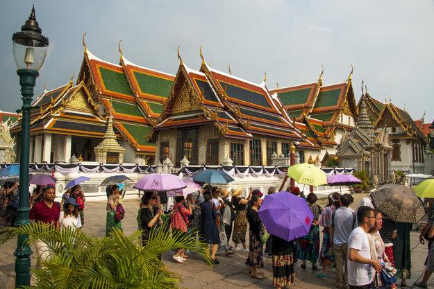 Chrámy sú veľkým turistickým lákadlom