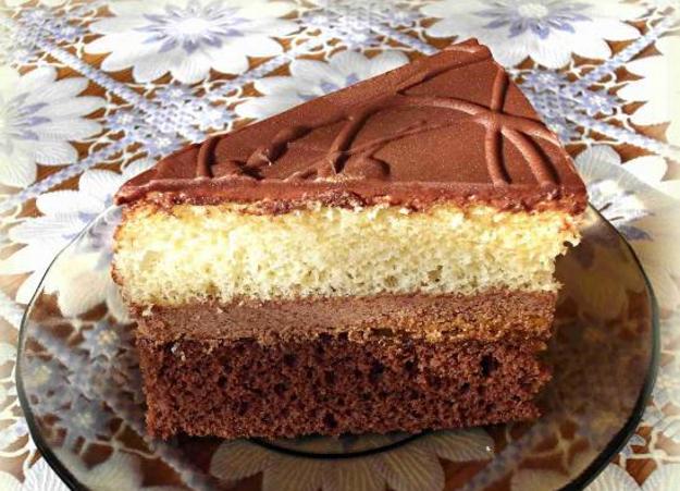 Škoricovo-čokoládové rezy
