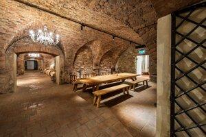 Pezinský zámok - zámocké vinárstvo