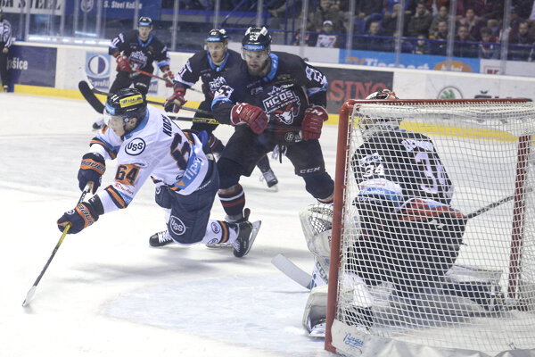 Hokejisti Banskej Bystrice vyhrali v Košiciach.