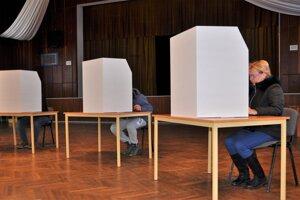 Voľby do NR SR v Habovke.