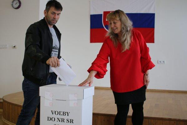 Voľby vo Veľkej Lehote v okrese Žarnovica.