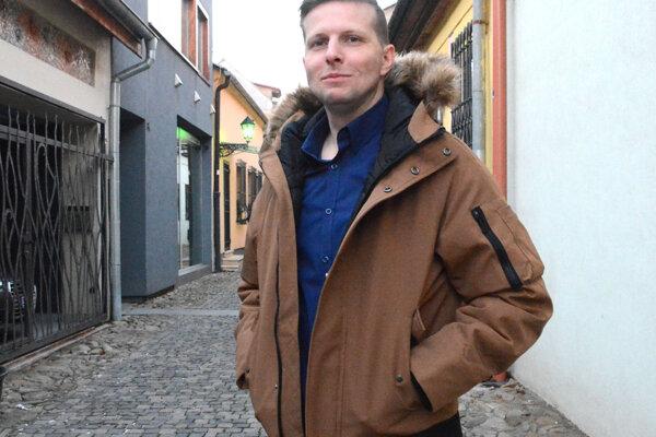 Šéf košickej bunky Progresívneho Slovenska Filip Gaál.