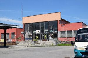 Budova autobusovej stanice v Trebišove.