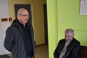 Exposlanci z Vyšného Mirošova na súde.