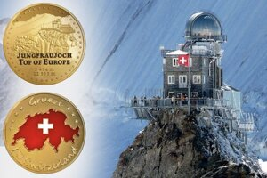 Jungfrau, strecha Európy.
