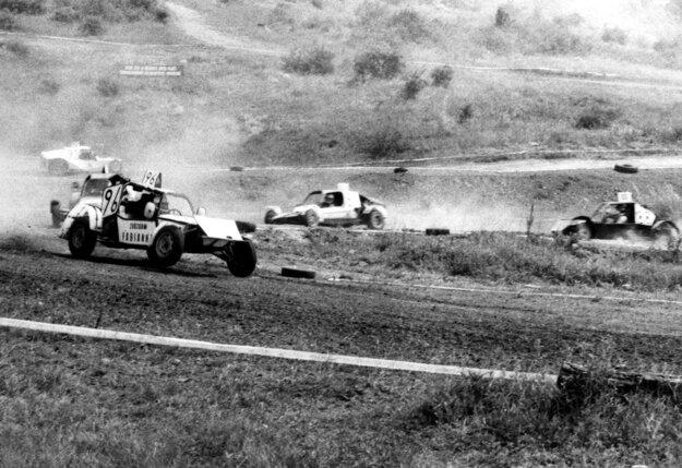 Nadin prvý autokrosový pretek v Žitavanoch v roku 1986