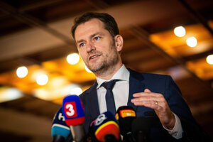 Igor Matovič predstavil vlády.