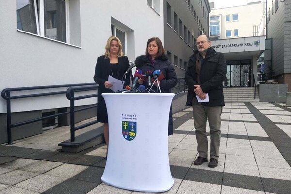 Županka Erika Jurinová oznámila prvé opatrenia proti šíreniu koronovírusu.