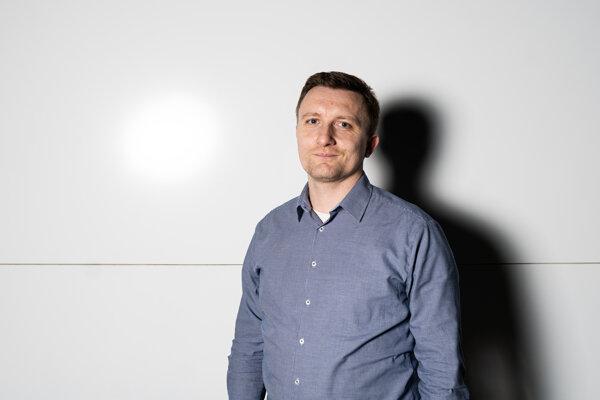 Bývalý šéf tímu Kuciak Peter Juhás počas rozhovoru pre Denník SME.