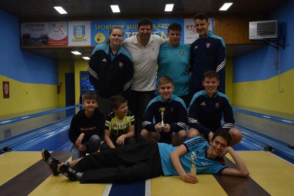 Mladí kolkári Trstenej skončili doma na peknom 3. mieste.