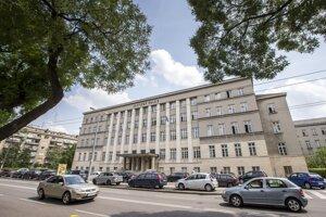 Justičný palác v Bratislave.