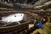 Štadión Chicaga Blackhawks United Center.