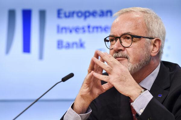 Prezident Európskej investičnej banky Werner Hoyer.