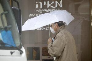 Chodec v izraelskom meste Hadera.
