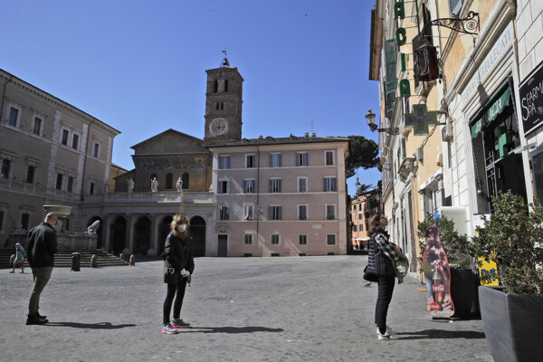 Rím v čase pandémie