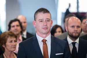 Nastupujúci minister vnútra Roman Mikulec.