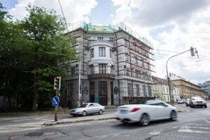 Sídlo Lekárskej fakulty Univerzity Komenského v Bratislave.