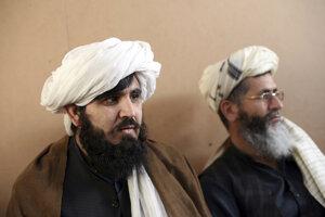 Väznení členovia Talibanu.