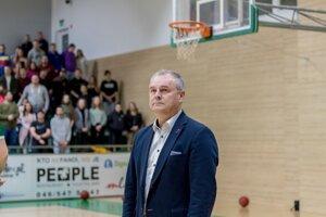 Prezident MBK Handlová Ján Spevár.