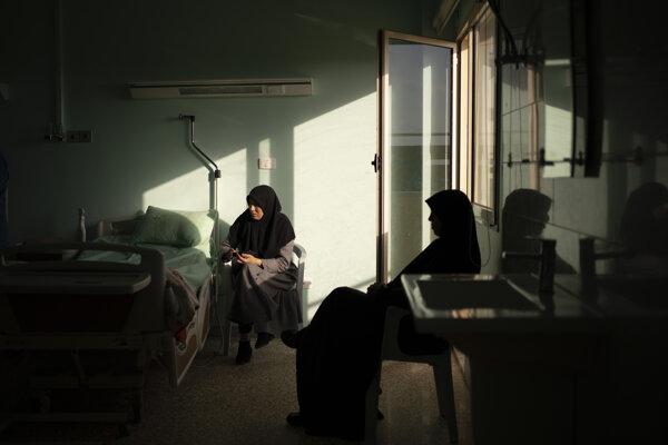 Nemocnica v Tripolise.