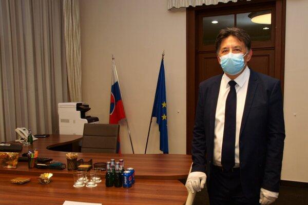Minister životného prostredia SR Ján Budaj.