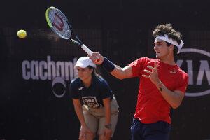 Brazílsky tenista Thiago Wild.