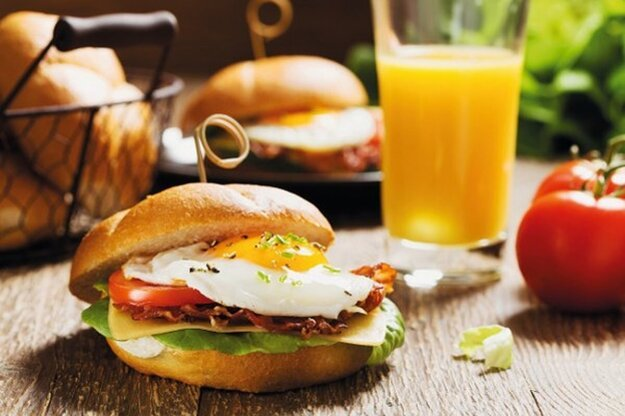 Jednoduchý domáci hamburger
