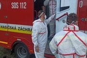Hasiči pomáhajú v Gabčíkove.