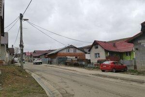 Osada v Bystranoch v čase pandémie koronavírusu.