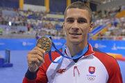 Boxerista Andrej Csemez je bronzovým medailistom z európskych hier 2019.