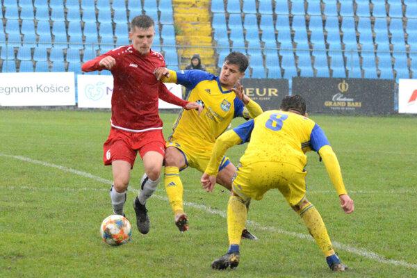 František Vancák (v strede) patrí v košickom tíme medzi najväčších srdciarov.