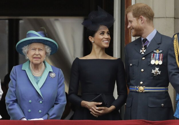 S kráľovnou Alžbetou II.