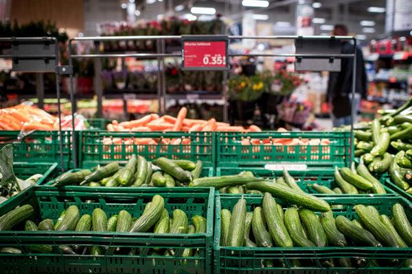 Predaj uhoriek v Kauflande bez obalu.