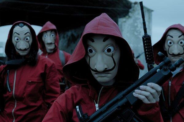Netflixový hit Money Heist pokračuje štvrtou sériou.
