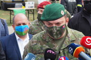 Náčelník Generálneho štábu Ozbrojených síl SR Daniel Zmeko.