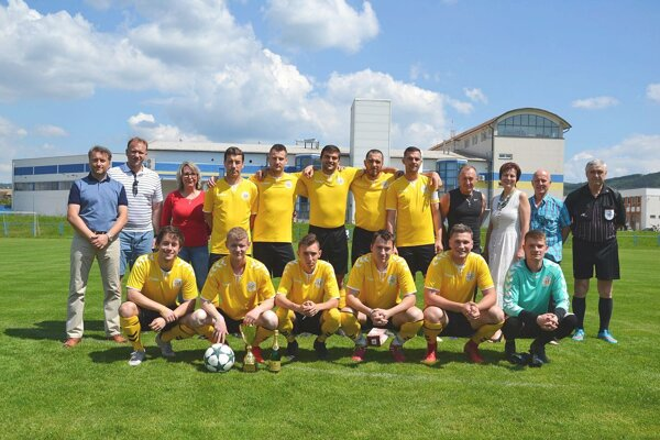 Novodubničania vlani vyhrali 8. ligu.