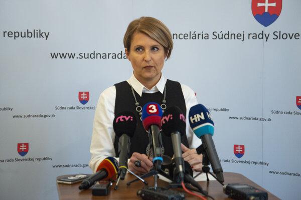 Sudkyňa Marcela Kosová, členka Súdnej rady SR.