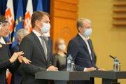 Premiér Matovič informoval o slovenských testoch na koronavírus.